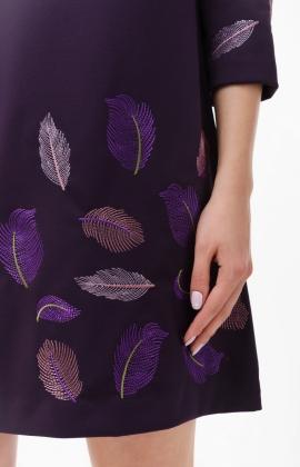 Платье RM1218-18DD Фиолетовый