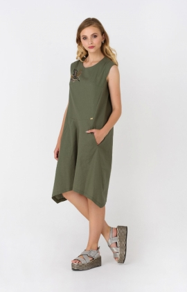 Платье RMD1315-19DD Хаки