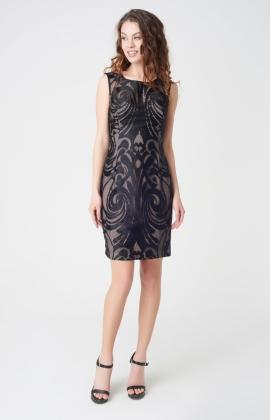 Платье Rica Mare RM1679-17VC Черный