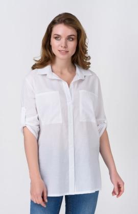 Блуза RM1318-19DB Белый