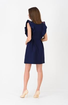 Платье RM1273-19DD Темно-синий
