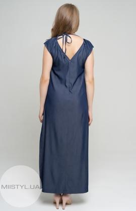 Платье Nikolo Polini 1114/1 Темно-джинсовый