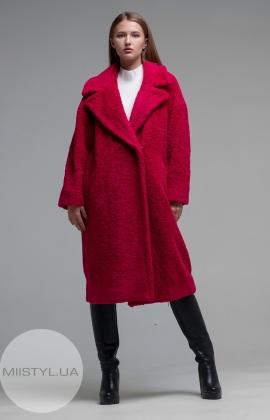 Пальто Imperial KF45WKL Малиновый