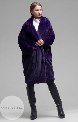 Пальто Barbara Aluisi Over 23 Темно-фиолетовый