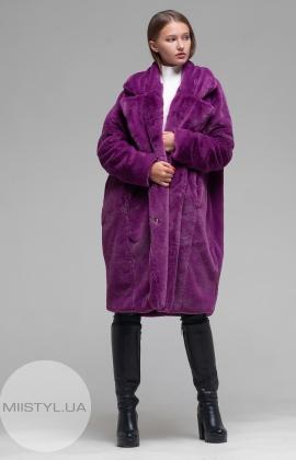 Пальто Barbara Aluisi Over 23 Светло-фиолетовый