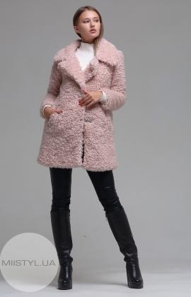 Пальто Save Style 26595 Розовыый