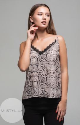 Блуза Imperial RDU3WXG Бежевый/Черный