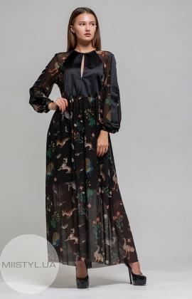 Платье Imperial AYV1WPR Черный/Принт