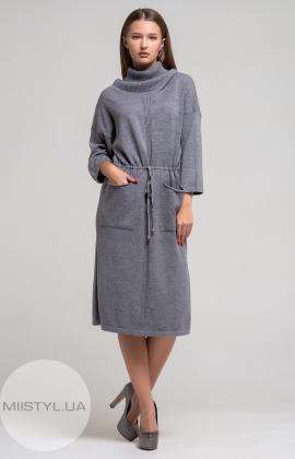 Платье Ljve 30653 Серый