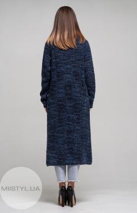 Кардиган Serianno 10C2702 Темно-синий/Люрекс