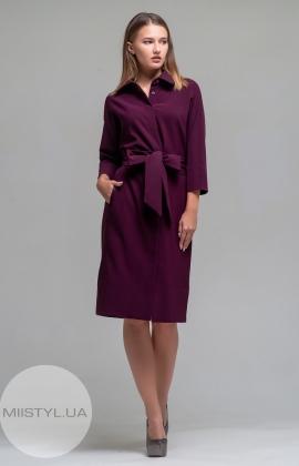 Платье Mira Mia 19k6002 Сливовый
