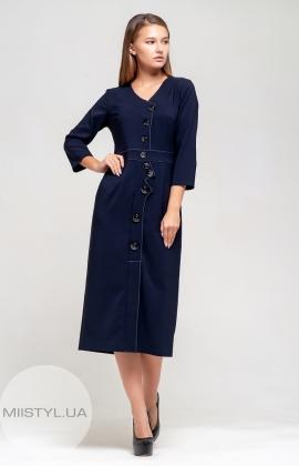 Платье Lafilazzi 3826 Темно-синий
