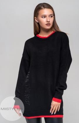 Туника Artistic 9103 Черный/Красный