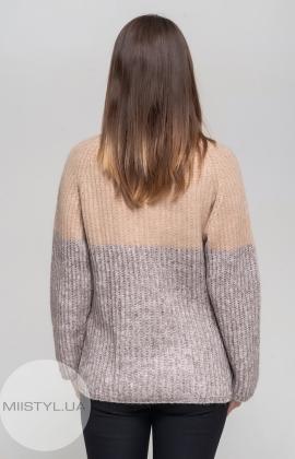 Джемпер Serianno 10C4648 Бежевый/Серый