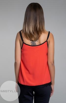 Блуза La Fama 1107 Красный/Черный