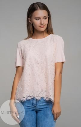 Блуза Serianno 10C3940 Пудра
