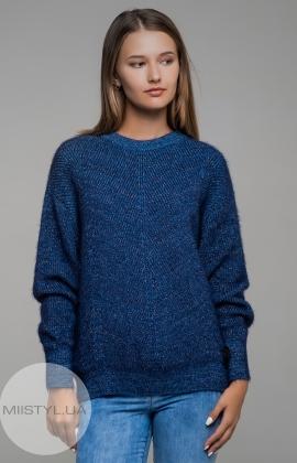 Джемпер Serianno 10C4356 Темно-голубой/Люрекс