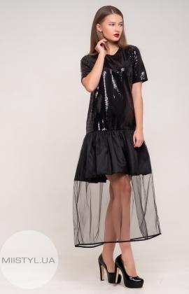Платье Mira Mia 19k6084 Черный