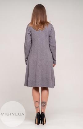 Платье Lara 1481 Темно-серый/Меланж
