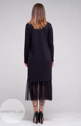 Платье Miss Lilium 19627 Черный