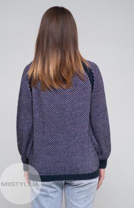 Джемпер Serianno 10C4692 Темно-синий/Лиловый