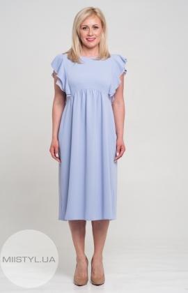 Платье November 30358 Светлый/Сиреневый