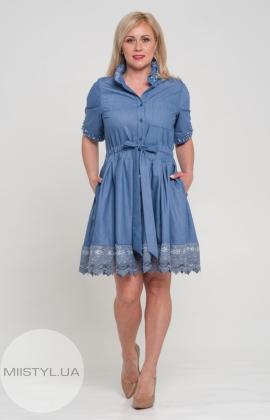 Платье Lumo 3134 Джинсовый