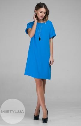 Платье November 40307 Голубой