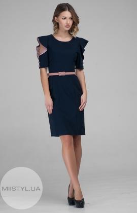 Платье Lafilazzi 3519 Темно-синий
