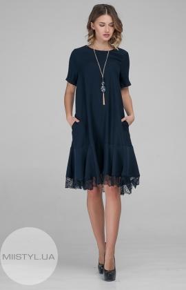 Платье DZYN 6797 Темно-синий