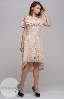 Платье Kedma 97384 Бежевый