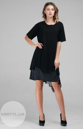 Платье Serianno 10K2903 Черный