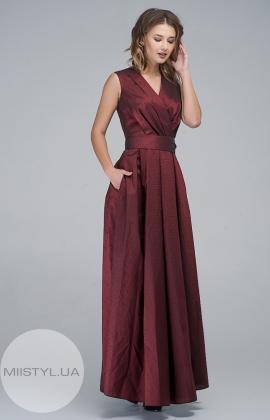 Платье SV Line 6645 Бордовый