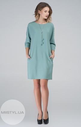 Платье Macca 8S809 Светло-зеленый
