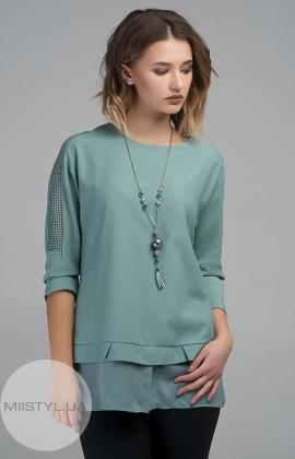 Блуза La Fama 8s603 Светло-зеленый