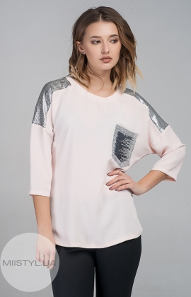Блуза Cliche 0014030 Пудра