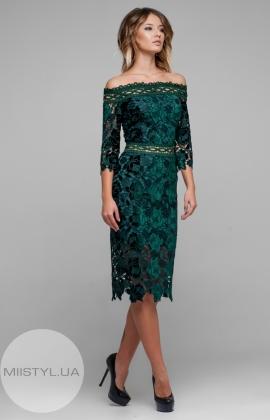 Платье Green World 6774 Изумрудный