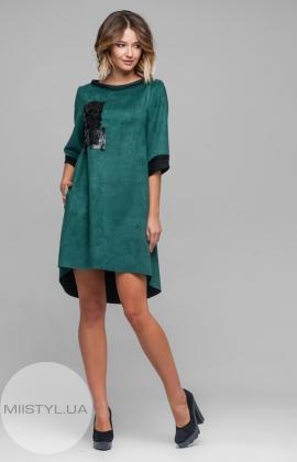 Платье Nikolo Polini 2037 Изумрудный