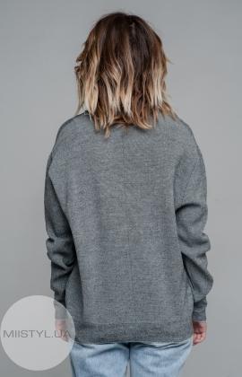 Джемпер  Serianno 10C1774 Серый/Меланж