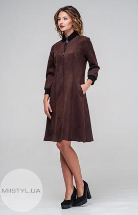 Платье Norm 17574 Коричневый