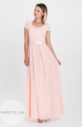 Платье Lady Form 9053 Пудра
