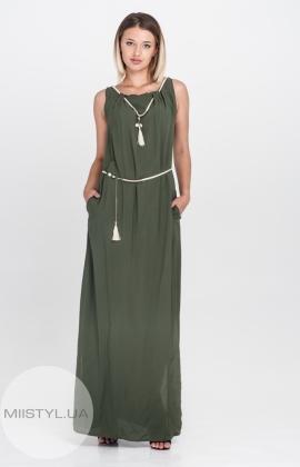 Платье F&K 3049 Хаки