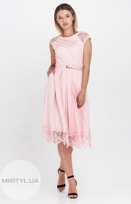 Платье Lady Form 9051 Пудра