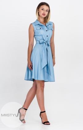 Платье Lafilazzi 3328 Голубой