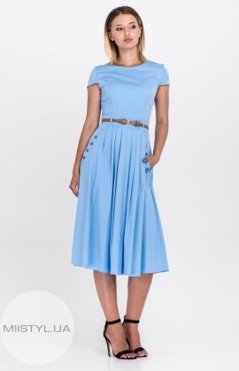 Платье Lady Form 9038 Голубой