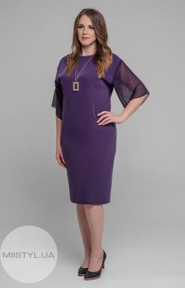 Платье November 40523 Фиолетовый