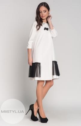 Платье X-Fi 3996 белое