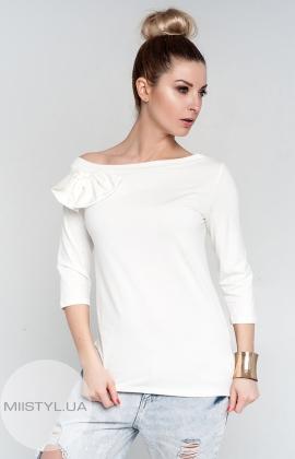 Блуза Giocco 4758 молочная