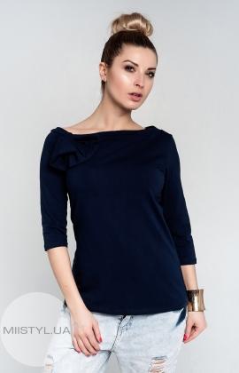 Блуза Giocco 4758 т.синяя
