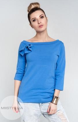 Блуза Giocco 4758 волошковая